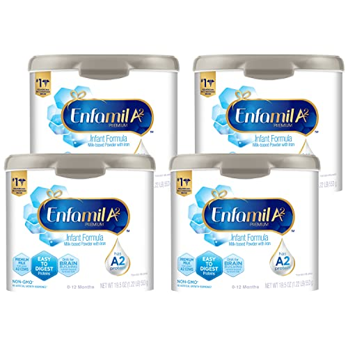 Enfamil A2 Premium Infant Formula, Non-GMO, Easy-to-Digest Premium Milk Proteins from Select A2...