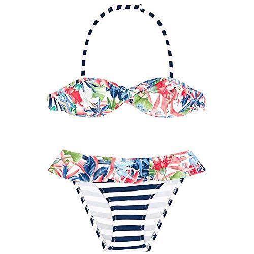 Mayoral Bikini Niña Azul Floral 12 a 18 años