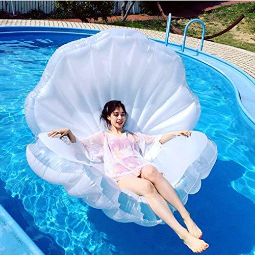 GGCL Aufblasbare Luftmatratze - Shell - Schwebebett Wasser Schwimmt Sommer-Strand-Pool Lounge Raft Partydekoration Spielzeug Für Erwachsene Kinder