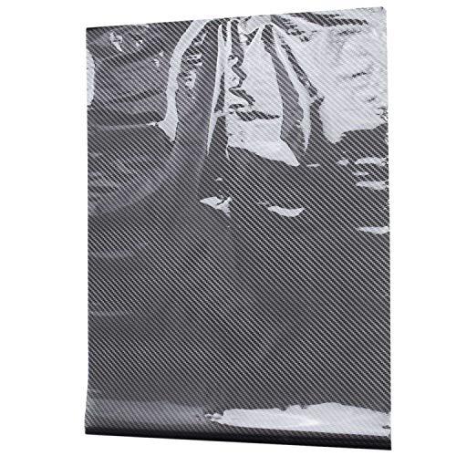 HEYB 0.5X2M Negro Fibra de Carbono ImpresióN Transferencia de Agua InmersióN HidrografíA PelíCula Hidro