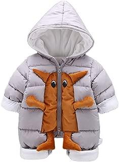 Fairy Baby Toddler Baby Unisex Cartoon Animal Romper Outwear Hood Jumpsuit Snowsuit