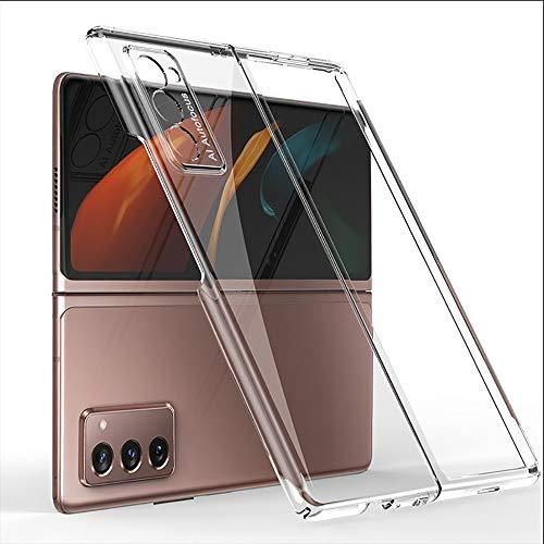 BaiFu Custodia per Samsung Galaxy Z Fold2 5G Cover, Custodia per Telefono Ultrasottile Protettiva e Antiurto per Telefono Case Cover per Samsung Galaxy Z Fold2 5G, Trasparente