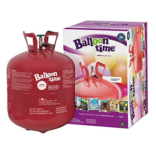 Botella de helio de 0,42m3para 50globos