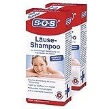 SOS Läuse-Shampoo (2er Pack) befreit zuverlässig von Kopfläusen und Nissen 2x100 ml