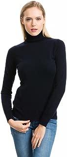 Turtleneck Sweater, Women - 100% Cashmere