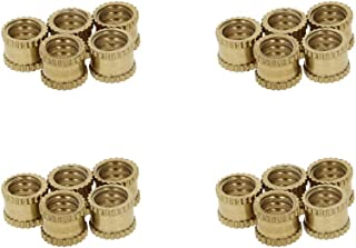 12-Pack The Hillman Group 57118 1//4-20 x 0.787 Slotted Insert Nut