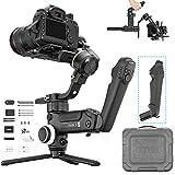 Zhiyun Crane 3S Estabilizador de Camara, Gimbal DSLR para Sony FX9/FS 7/ a6300, Canon 1DX/C300/ 5D4, Nikon Z50/D850,Panasonic GH5/ G9, RED, BMPCC, 6.5KG Carga útil, Mango Modular, ViaTouch 2.0