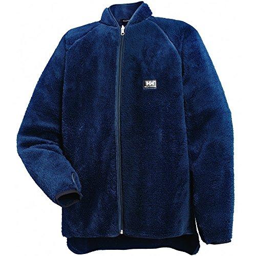 Helly Hansen 72262 - Veste de travail en polaire effet fourrure Réversible - bleu marine - Taille: S