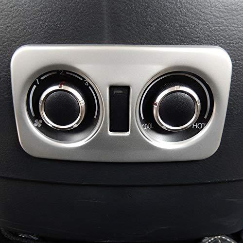 Panel de control Condición trasera de CA de ventilación del salpicadero cubierta decorativo en forma for Mitsubishi Pajero V80 IV Montero Limited de Super Exceed Shogun