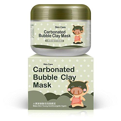 Reefa Carbonated Bubble Clay Maske Bubbles Schlamm Maske Befeuchten Tiefenreinigung Gesichts Maske