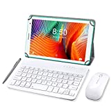 Tableta 8 Pulgadas, Android 10.0 Pie Tablet PC, 3 GB de RAM y 32 GB de Memoria, Pantalla IPS HD, Quad-Core, WiFi, Netflix, Bluetooth, OTG, Certificado por Google GMS- Verde