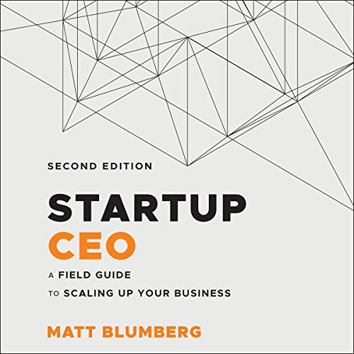 Startup CEO cover art