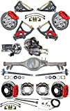 NEW SUSPENSION & WILWOOD BRAKE SET FOR 59-64 IMPALA, CURRIE REAR END & AXLES, 9' FORD POSI-TRAC 3RD MEMBER, RED CALIPERS & 11' DRILLED ROTORS, MASTER CYLINDER, BOOSTER ARMS BEL AIR BROOKWOOD BISCAYNE