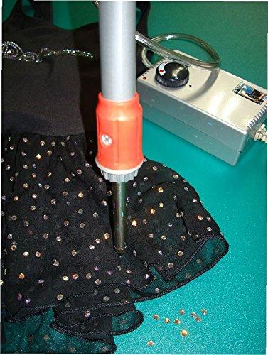 BrillaBenny APPLICATORE Strass Professionale con ASPIRAZIONE Magic Strass Vacuum x Applicare Pietre Termoadesive