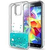 LeYi Coque Galaxy S5 Etui avec Film de Protection écran, Fille Personnalisé Liquide...