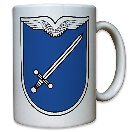 Luftwaffenausbildungsregiment 2 Luftwaffe Ausbildung Regiment 2 Nassau-Dietz-Kaserne Bundeswehr Bund Bw Abzeichen Wappen Emblem - Kaffee Becher Tasse #12028