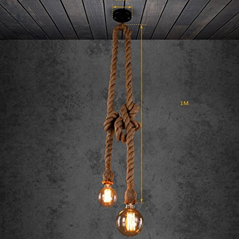 ZHIYUAN Kreative Bar und das Restaurant bar Persnlichkeit Kunst dekorative Seil Beleuchtung Kronleuchter, 2