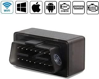 OBDII WiFi OBD2 Coche Diagnosis Escáner Adaptador USB, Adecuado para Sistemas Android, iOS, Windows y Symbian(1pc WiFi)