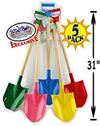 Snow shovels for winter outdoor playtime
