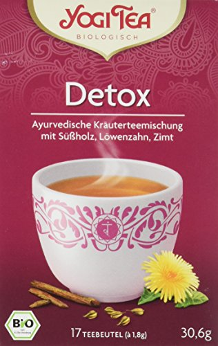 Yogi Tea Detox Tee Bio, 3er Pack (3 x 30,6 g)
