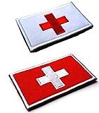 2pcs Switzerland Flag...image