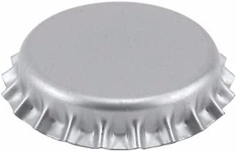 Oxygen Barrier Beer Bottle Crown Caps - Silver 144 Count