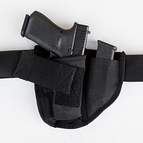 Brave Response Appendix Gun Holster for Concealed Carry - Belly Band IWB Holster Fits All CCW Handguns Pistols Revolvers - Men and Women (Right Handed)