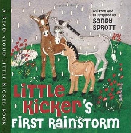 Little Kicker's First Rainstorm