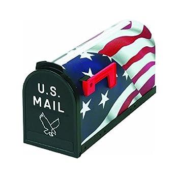 Flambeau 6530US Scenic Decor Series Mailbox American Flag USA