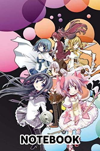 Puella Magi Madoka Magica Only You Notebook: (110 Pages, Lined, 6 x 9)