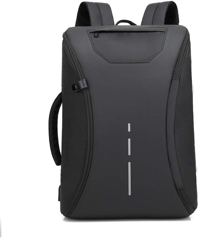 QWKZH Rucksack-Mnner vielseitige beilufige im Freienrucksack-Computertasche