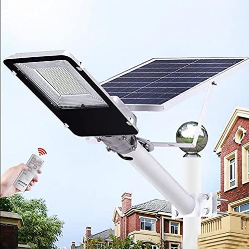 HYTC Luz De Calle Solar Led 200W 100W Resistente Al Agua Inalámbrico Ip65 Impermeable Control Remoto De Iluminación De Seguridad De Alumbrado Público De Patio Y Poste-10w 6000k