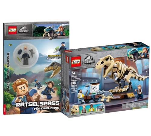 Collectix Lego 76940 T. Rex - Juego de esqueleto de fósiles (incluye tapa blanda)