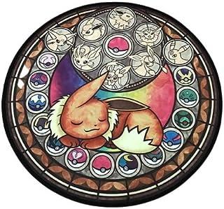 Tapis rond Chambre décoration accessoire maison coussin doux Enfant mignon bébé puériculture pokémon manga Neuf Anti-dérap...
