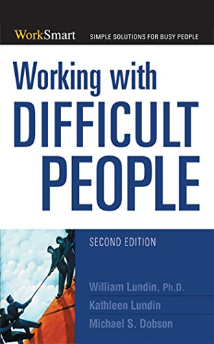 Working with Difficult People (WorkSmart Series)