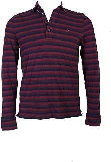 Tommy Hilfiger Mens Vanderbilt Striped Rugby Polo Shirt