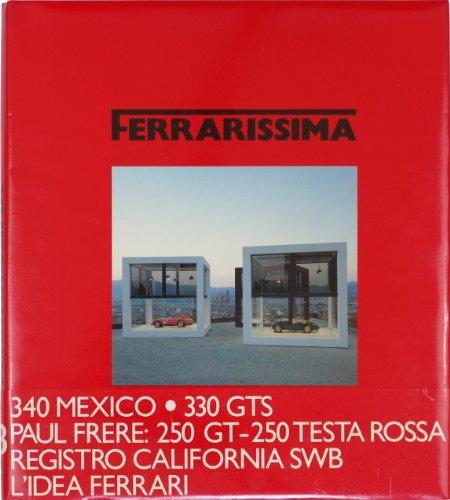 Ferrari Ferrarissima Jahrgang 1990 Halbjährliches Auto Magazin Ausgabe Band 13 auf Italienisch, Englisch, Französisch, u.a. mit dem 340, 250 GT - 250 TR, 330 GT