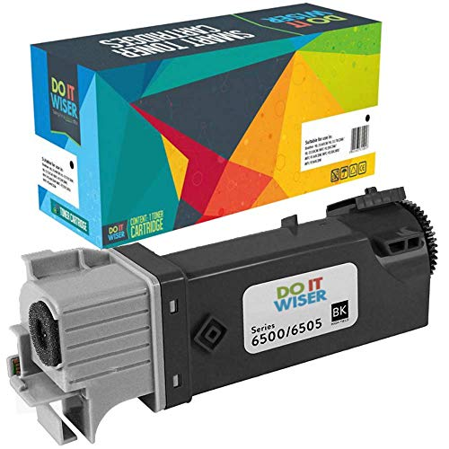 Do it wiser kompatible Toner als Ersatz für Xerox Phaser 6500 6500N 6500DN WorkCentre 6505 6505N 6505DN (Schwarz)