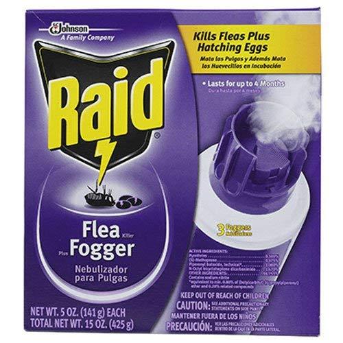 Johnson 41654 Raid Flea Fogger