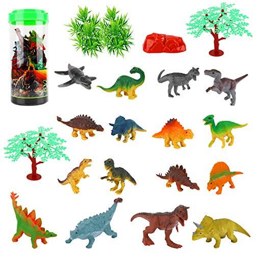 Herefun 25 Pcs Dinosaure...