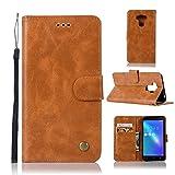 Guran® Housse en Cuir PU pour ASUS ZenFone 3 Max (5.5 Pouces) ZC553KL Smartphone Flip Cover...