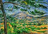 Kunstdruck/Poster: Paul Cézanne La Montagne