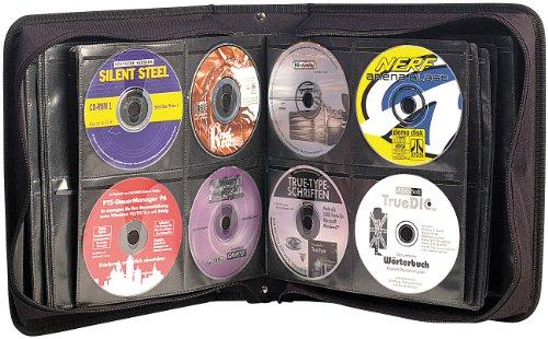 Xcase DVD Mappe: CD/DVD/BD-Tasche für 240 CD/DVD/BDs (CD Ordner)