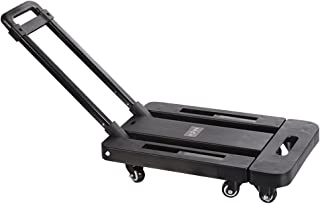 440lb Heavy Duty Luggage Cart Dolly Folding Platform Moving Warehouse Push Hand Truck