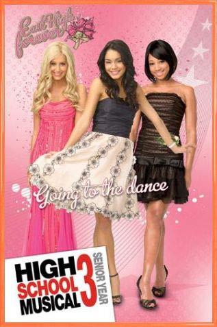 1art1 High School Musical Póster con Marco (Plástico) - 3, Girls (91 x 61cm)