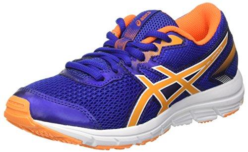 Asics Gel-Zaraca 5 GS, Zapatillas de Running Infantil, Azul Blue/Autumn/White, 39 EU
