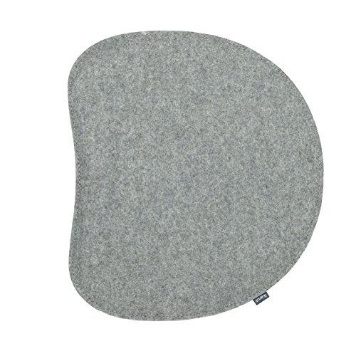 ikarus Sitzkissen 2-lagig Silbergrau passend zum Panton Stuhl