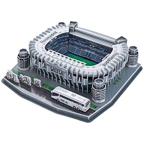 DJFT Real Madrid F. C.Santiago Bernabéu 3D fanáticos de los Rompecabezas Modelo de Recuerdo Puzzle DIY Regalos de cumpleaños for la Educación Juguetes de Navidad for los Adultos de los niños