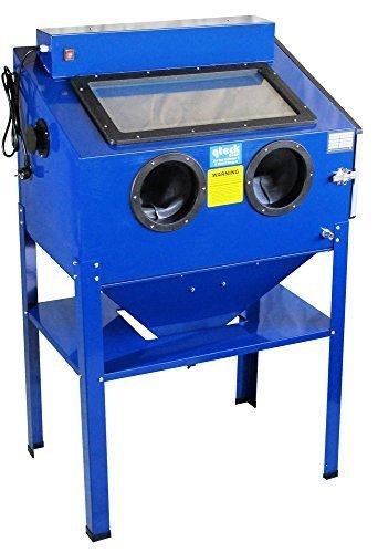 Sandstrahlkabine 220 L inkl. Beleuchtung BC-220 Typ 2 Sandstrahler Sandstrahlgerät sand blaster
