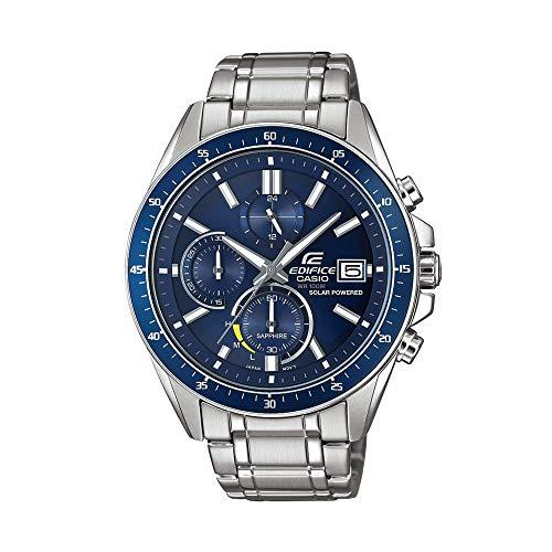 Casio Reloj Analógico para Hombre de Cuarzo con Correa en Acero Inoxidable EFS-S510D-2AVUEF